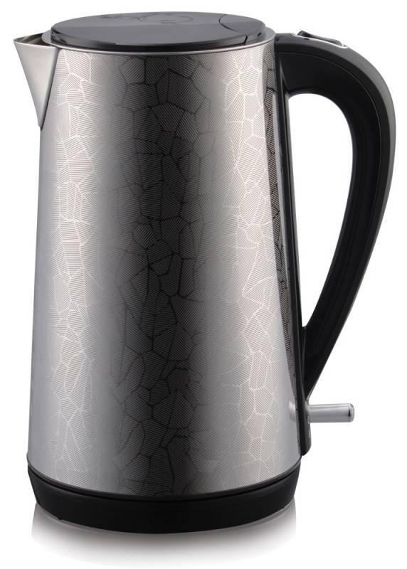 Чайник электрический Polaris PWK 1539CA серебристый/рисунок (PWK 1539 CA) - фото 1