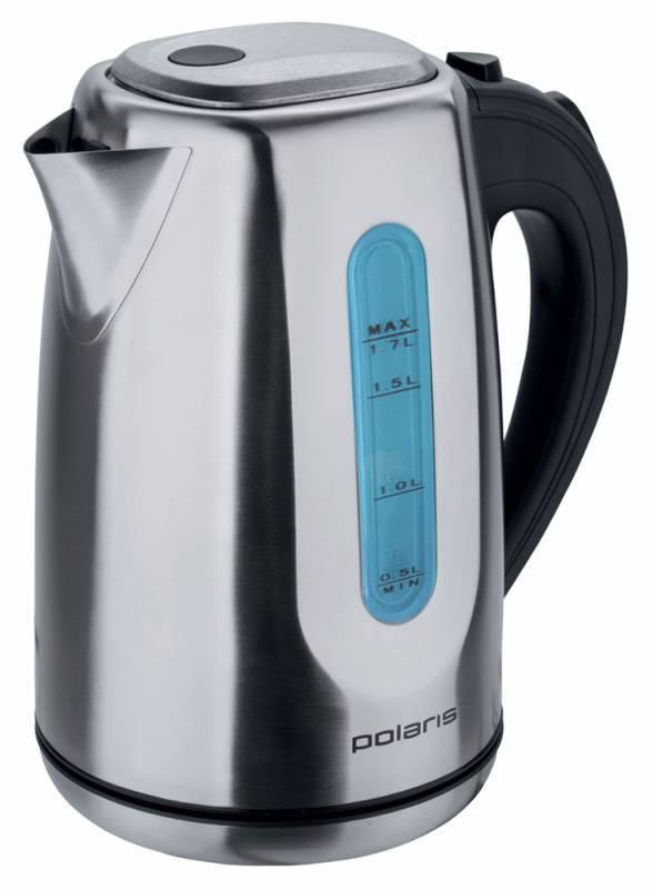 Чайник электрический Polaris PWK 1718CAL серебристый - фото 1