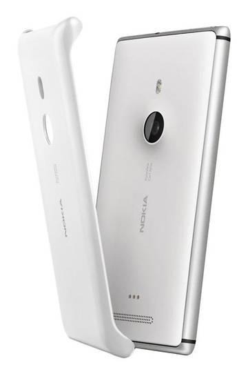 Чехол (клип-кейс) Nokia CC-3065 белый - фото 2