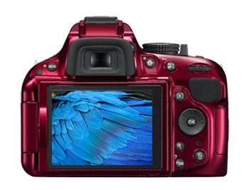 Фотоаппарат Nikon D5200 Body красный - фото 2