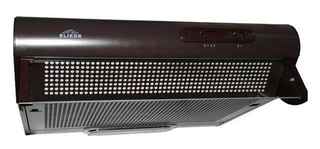 Подвесная вытяжка Elikor Davoline 60П-290-П3Л коричневый (КВ II М-290-60-163) - фото 1