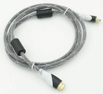 Кабель Ver.1.4 Black jack HDMI19 (m) / HDMI19 (m)1.8м.