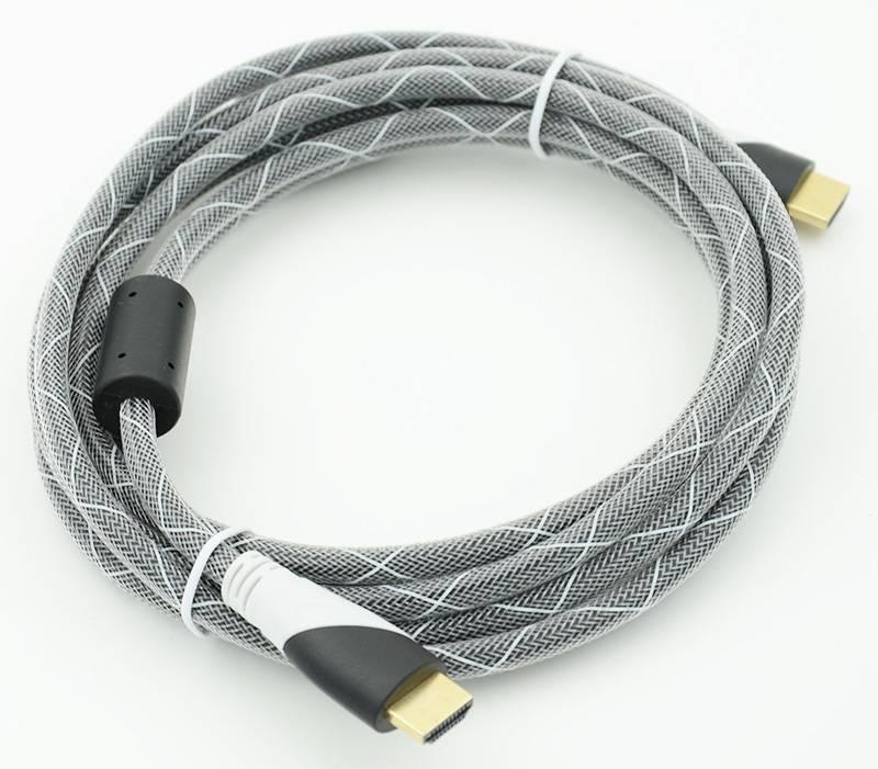 Кабель HDMI (m)/HDMI (m), ver 1.4, 3м. - фото 1