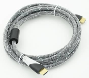Кабель Ver.1.4 Black jack HDMI19 (m) / HDMI19 (m)3м.