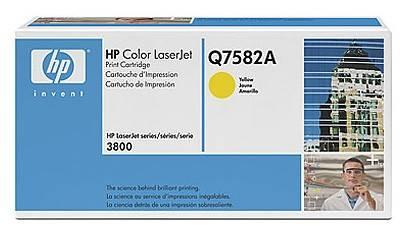 Тонер Картридж HP Q7582A желтый - фото 1