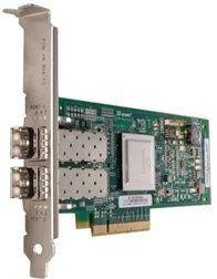 Адаптер Dell QLogic 2562 Dual Port 8Gb Fibre Channel HBA -Full Profile kit (406-BBEK-1)