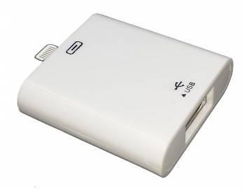 Переходник Lightning-USB A (f) (IPAD)