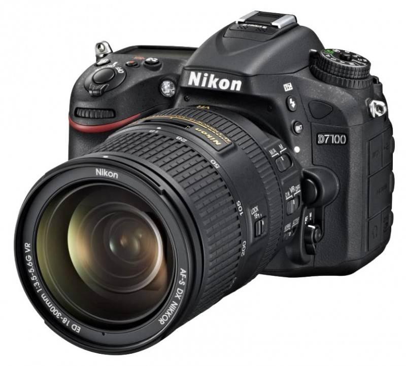 Фотоаппарат Nikon D7100 1 объектив черный - фото 2