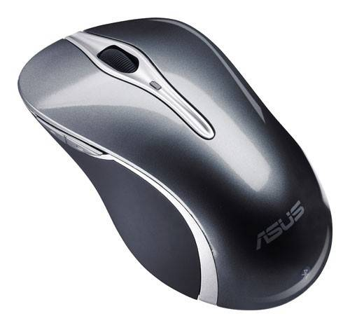 Мышь Asus BX701 серый/серебристый - фото 1