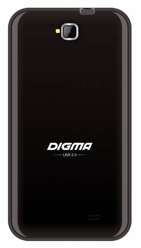 Смартфон Digma Linx 5.5 PT554Q 4ГБ синий - фото 2