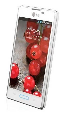 Смартфон LG Optimus L5 II E450 4ГБ белый - фото 1