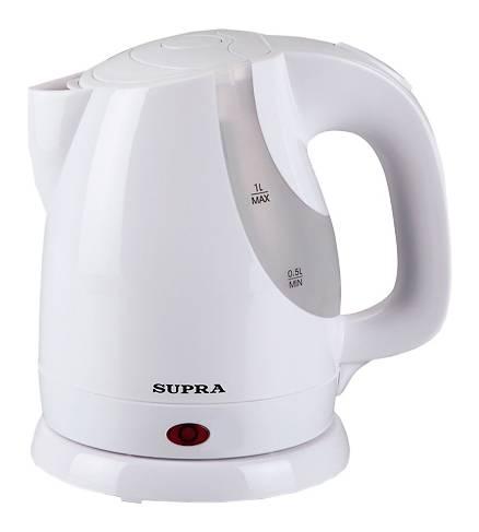 Чайник электрический Supra KES-1021 белый - фото 1