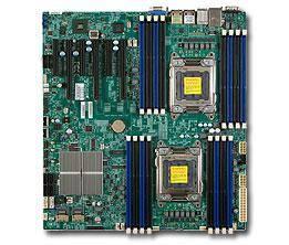 ��������� ����������� ����� Soc-2011 SuperMicro MBD-X9DRI-F-B eATX bulk