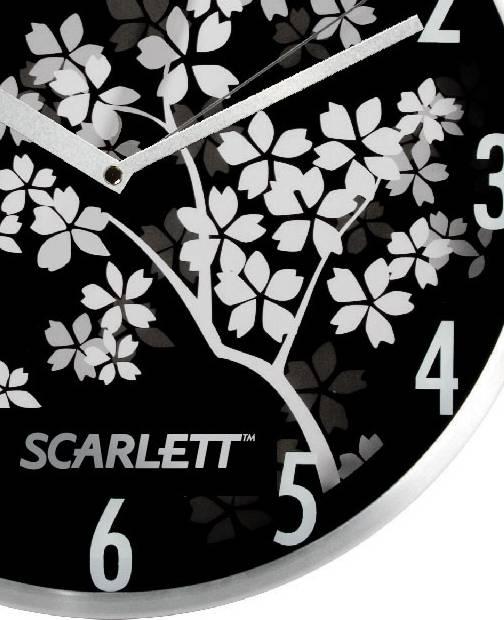 Настенные часы Scarlett SC-33D аналоговые - фото 2