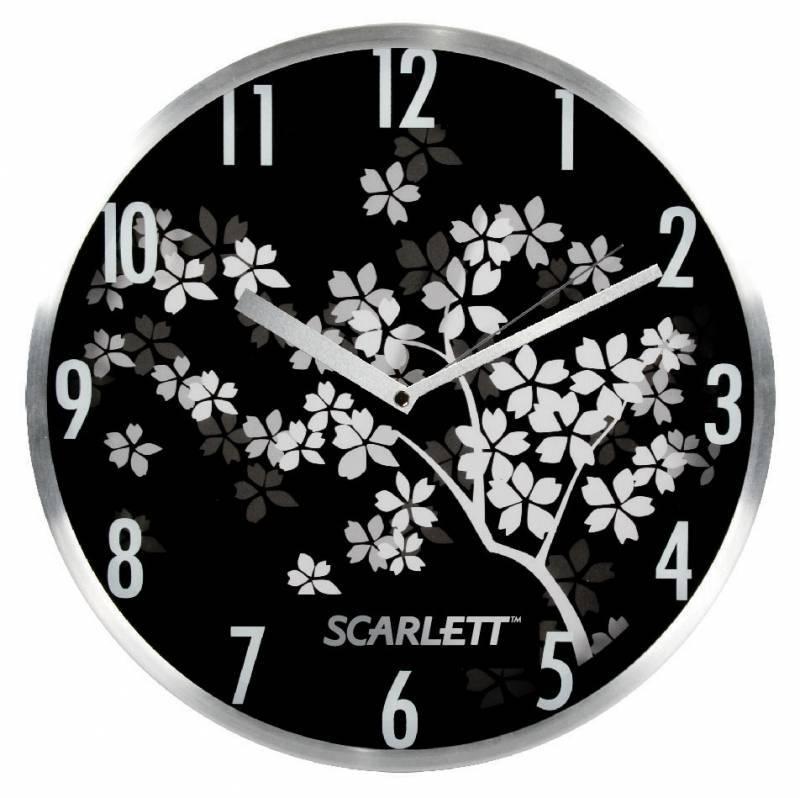 Настенные часы Scarlett SC-33D аналоговые - фото 1
