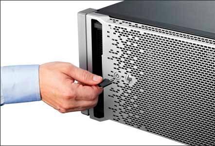 Сервер HP ProLiant DL380e Gen8 - фото 5
