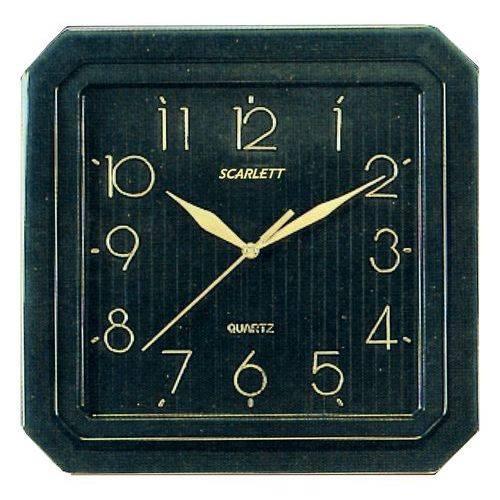 Настенные часы Scarlett SC-52CB аналоговые - фото 1