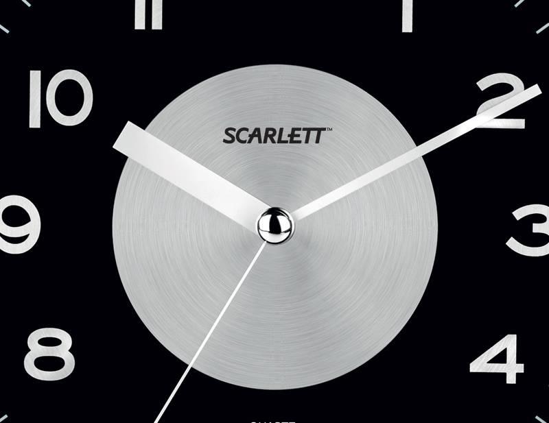 Настенные часы Scarlett SC-55E аналоговые - фото 2