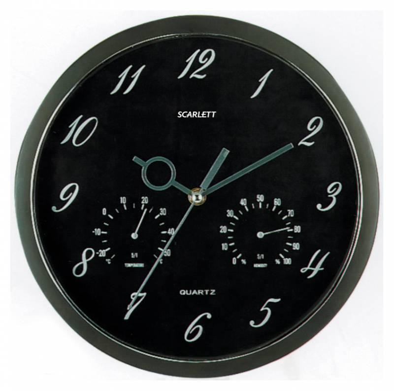 Настенные часы Scarlett SC-55J аналоговые - фото 1
