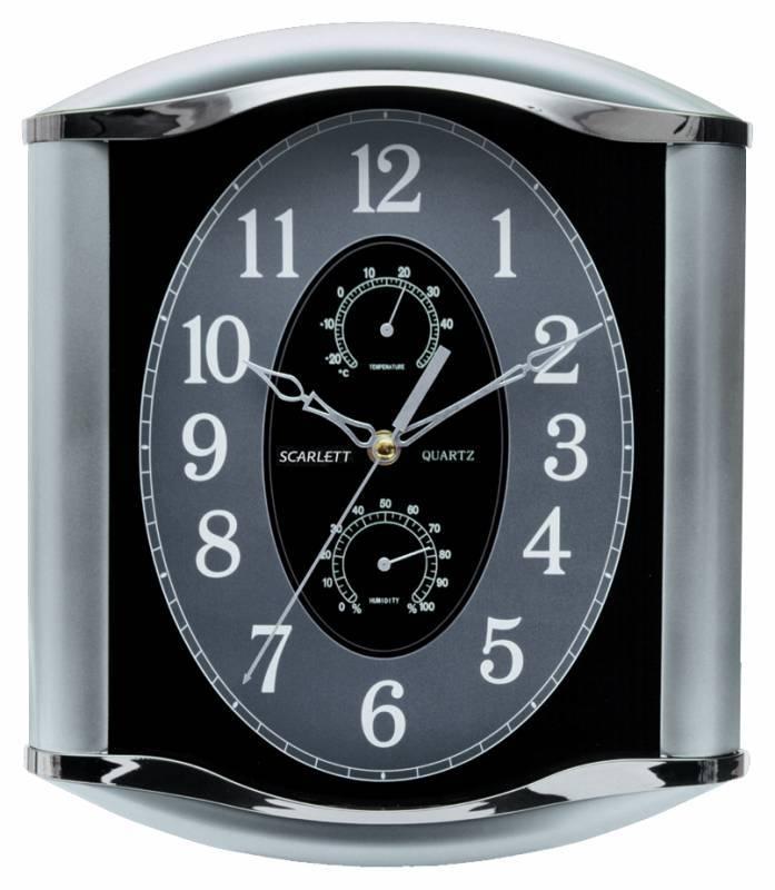 Настенные часы Scarlett SC-55L аналоговые - фото 1