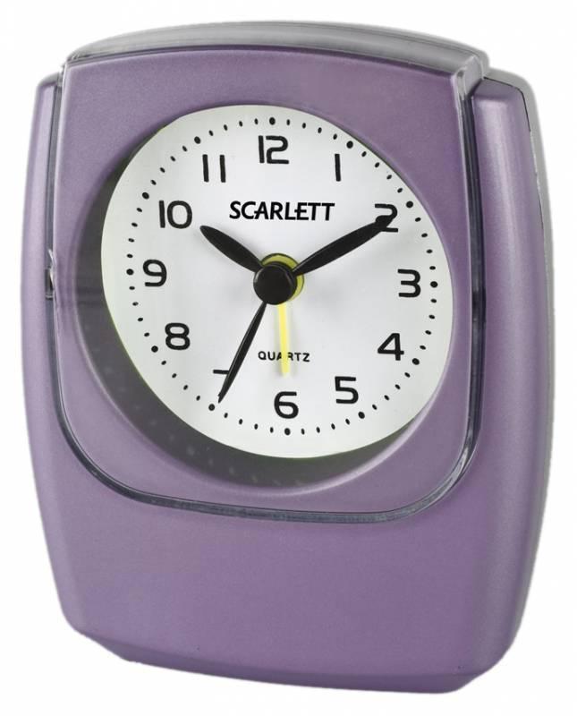 Будильник Scarlett SC-802 аналоговые - фото 1
