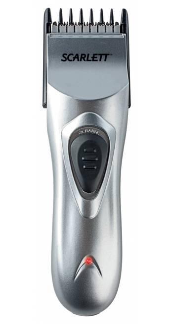 Машинка для стрижки волос Scarlett SC-160 серый