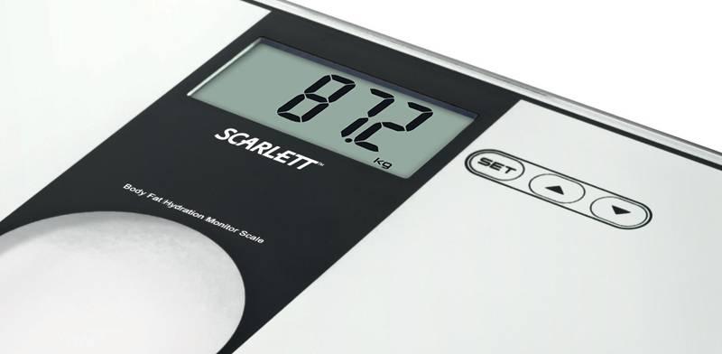 Весы напольные электронные Scarlett SC212 черный - фото 2