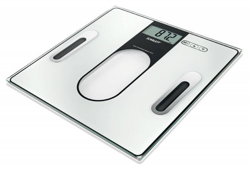 Весы напольные электронные Scarlett SC212 черный - фото 1