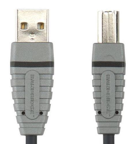 Кабель Bandridge BCL4103 USB A(m)/USB B(m) 3м. - фото 1