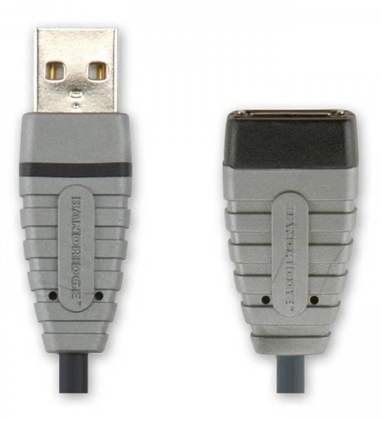 Кабель-удлинитель Bandridge BCL4305 USB A (m)/USB A (f)4.5м. - фото 1