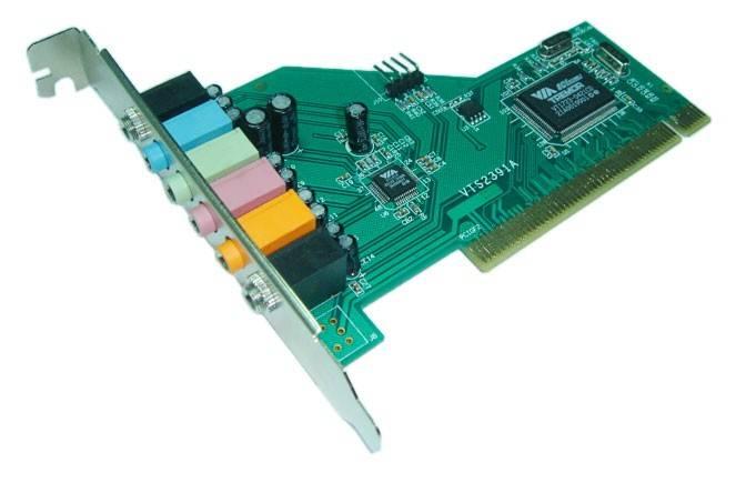 Звуковая карта PCI VIA Tremor (VIA VT1723) 7.1 bulk - фото 1