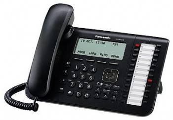 Телефон IP Panasonic KX-NT546RU-B черный