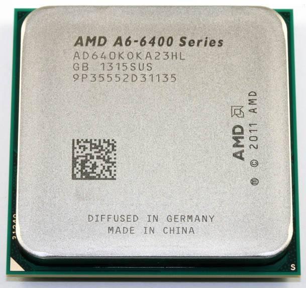 Процессор AMD A6 6400K Socket-FM2 OEM (AD640KOK23HL) - фото 1
