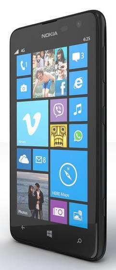 Смартфон Nokia Lumia 625 черный - фото 2