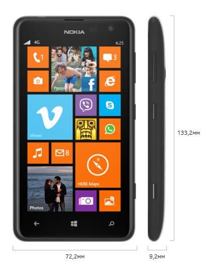 Смартфон Nokia Lumia 625 черный - фото 4