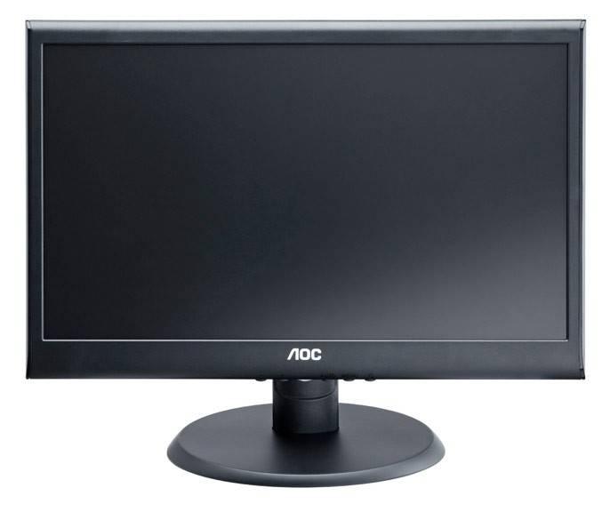 """Монитор 19.5"""" AOC e2050Swda черный - фото 1"""
