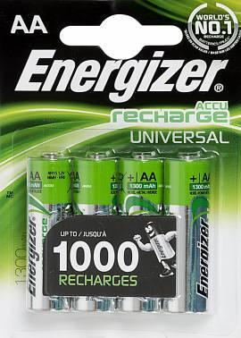 Аккумулятор AA Energizer Universal FSB4 (4шт)