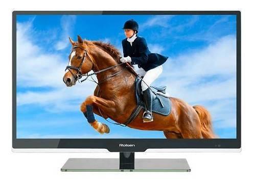 "Телевизор LED 32"" Rolsen RL-32E1301GU черный - фото 1"