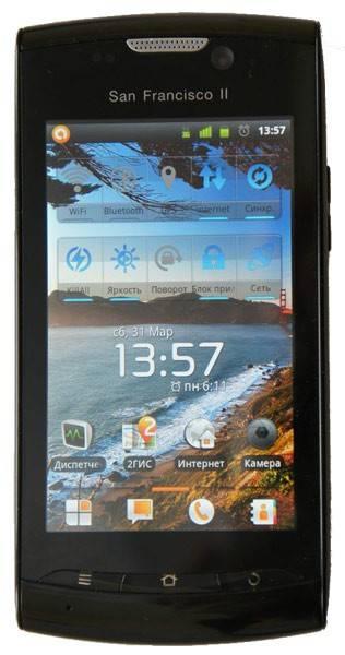 Смартфон ZTE Blade 2 черный - фото 1