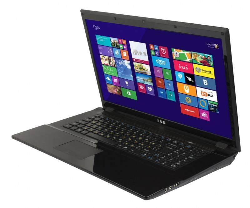"""Ноутбук 17.3"""" IRU Patriot 712 черный - фото 2"""