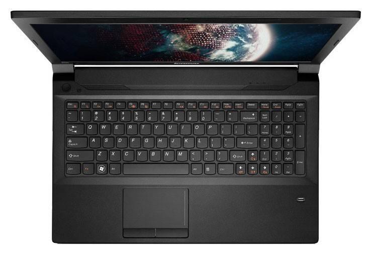 "Ноутбук 15.6"" Lenovo IdeaPad B590 черный - фото 4"