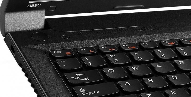 "Ноутбук 15.6"" Lenovo IdeaPad B590 черный - фото 6"