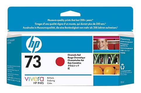 Картридж струйный HP 73 CD951A хроматический красный - фото 1