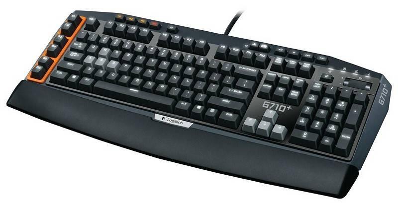 Клавиатура Logitech G710+ серый/черный - фото 2