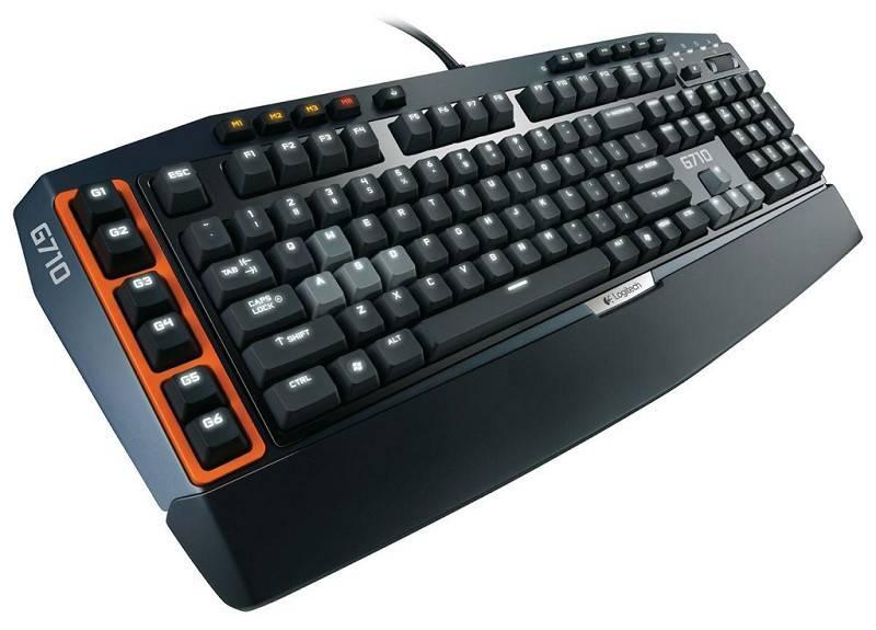 Клавиатура Logitech G710+ серый/черный - фото 3
