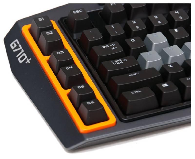 Клавиатура Logitech G710+ серый/черный - фото 8