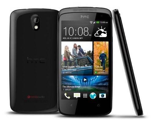 Смартфон HTC Desire 500 Dual Sim черный - фото 1
