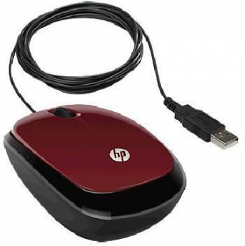 Мышь HP X1200 красный
