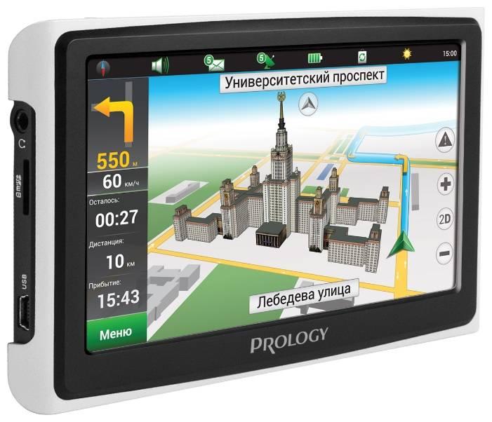 """GPS-навигатор Prology iMAP-5300 5"""" черный - фото 2"""