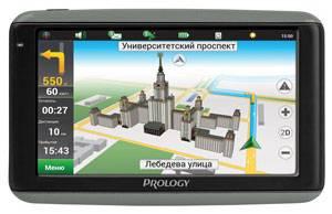 """GPS-навигатор Prology iMAP-7100 7"""" черный - фото 1"""
